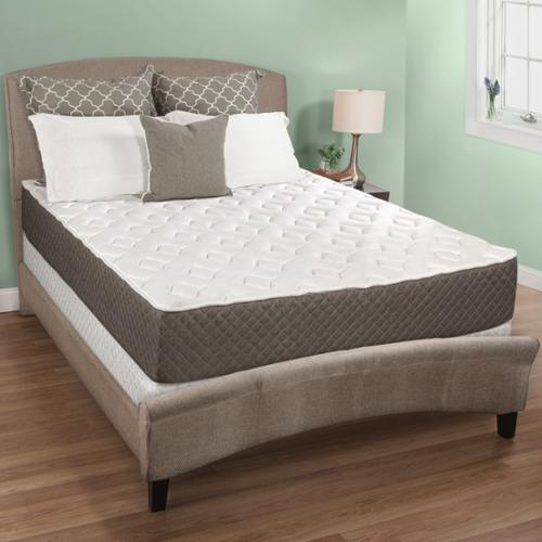 Select Luxury  10-inch Queen Size Quilted Memory Foam Mattress and Foundation Set