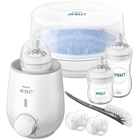 Philips Avent Natural All in One Gift Set, (Avent Bottle Accessories)