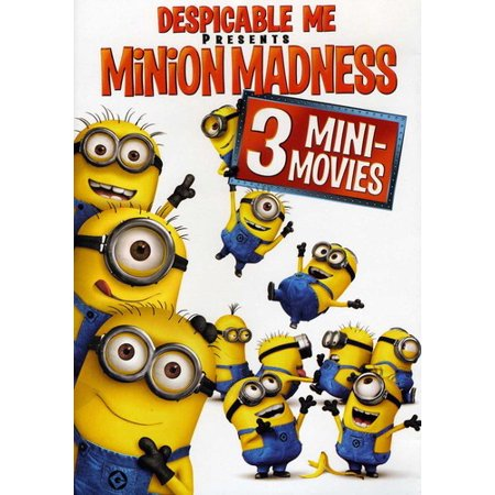 Despicable Me Presents: Minion Madness (DVD) - Names Of Minions In Despicable Me