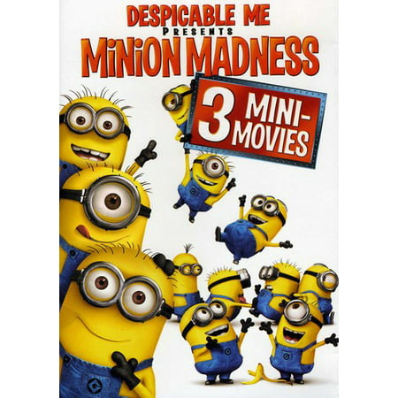 Despicable Me Presents: Minion Madness (DVD) - The Movie Minions