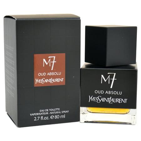 M7 Oud Absolu by Yves Saint Laurent for Men - 2.7 oz EDT Spray ()