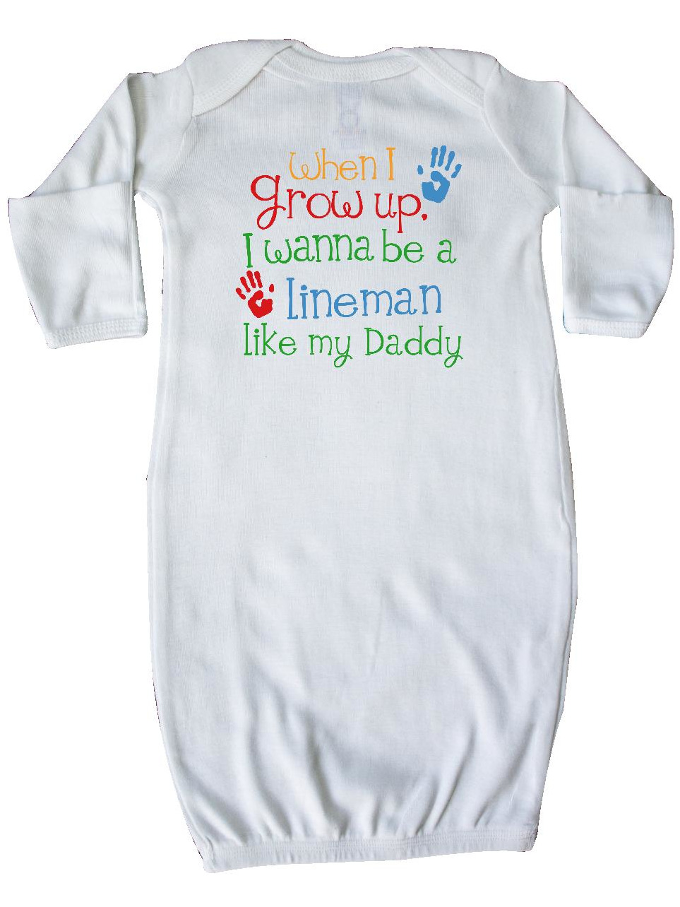Lineman like Daddy Newborn Layette