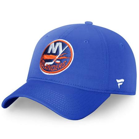 New York Islanders Fanatics Branded Elevated Core Fundamental Adjustable Hat - Royal - OSFA