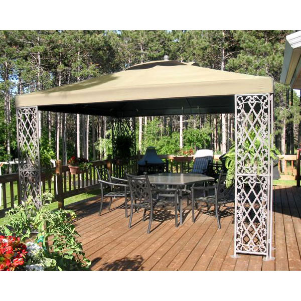 Garden Winds Replacement Canopy Top for JRA Furniture 12 x 12 Gazebo - RipLock 350
