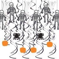 Spooky Halloween Hanging Decorations Kit, 31 Pieces