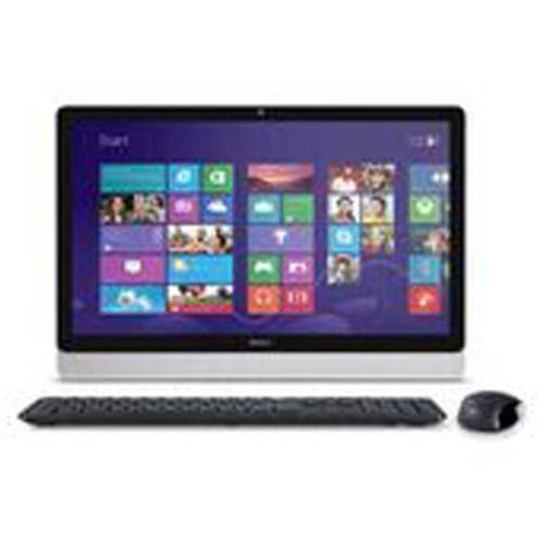 Dell Inspiron i3455-3240WHT 23.8 Inch All in One (AMD A6, 4 GB RAM, 500 GB HDD, White Bezel with SIlver Easel)
