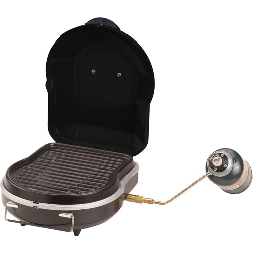 Review Portable Coleman Fold N Go 6,000 BTU Propane Grill Review