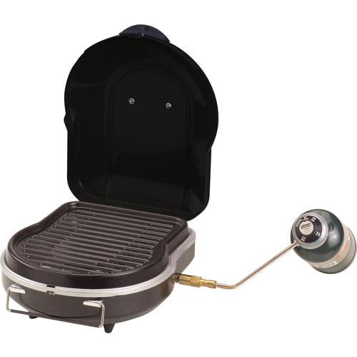 Portable Coleman Fold N Go 6,000 BTU Propane Grill