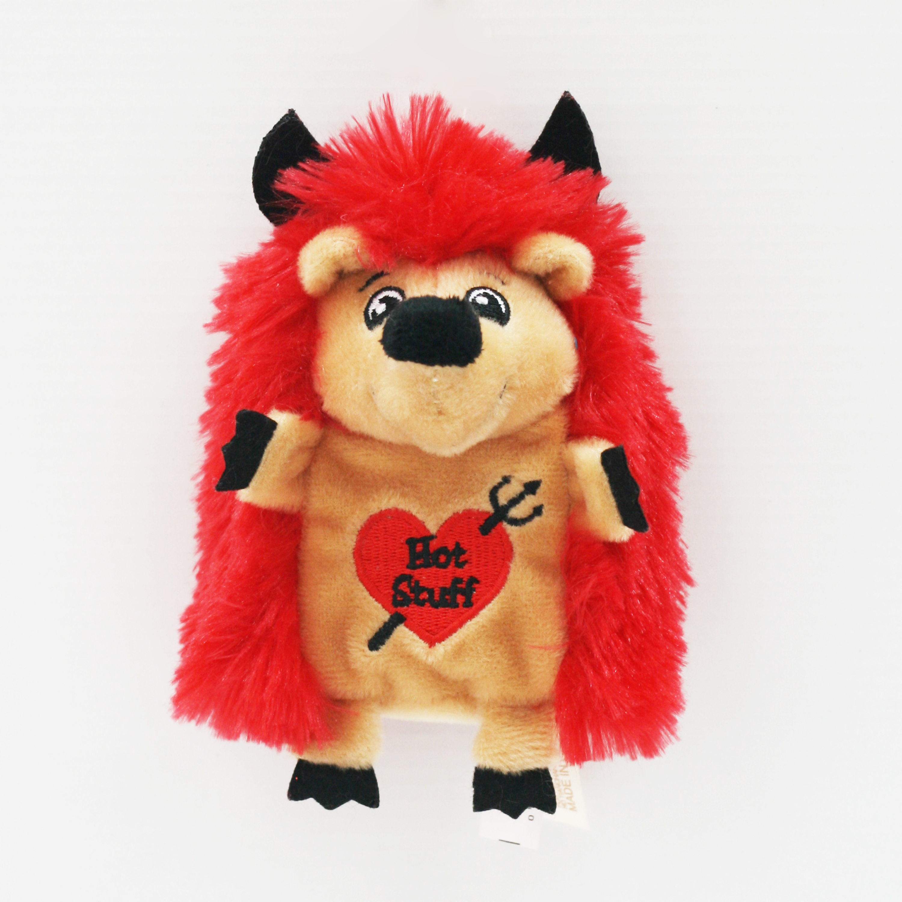 Valentine's Stuffed Dog Toys - Red Hedgehog