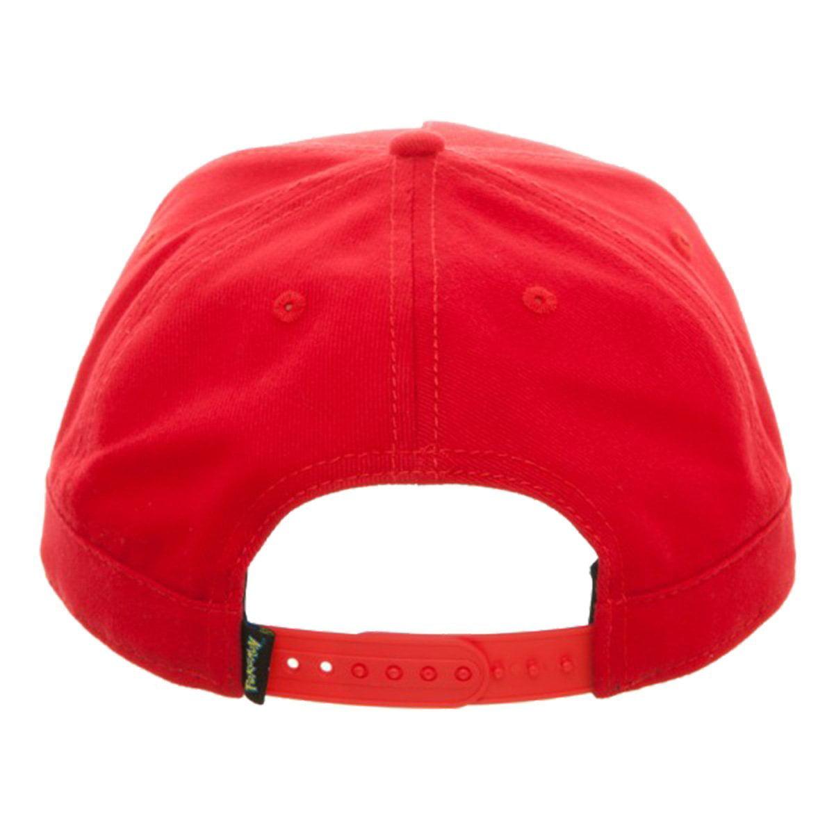 8b722178e2230 Bioworld - Pokémon Ash Ketchum Satoshi Snapback Hat