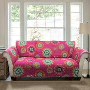 Adrianne Furniture Protectors, Fuchsia Sofa Couch Cover