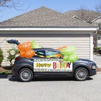 Bright Birthday Parade Car Decorations Kit