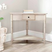 Safavieh Gomez Solid Casual Corner Table With Storage Drawer
