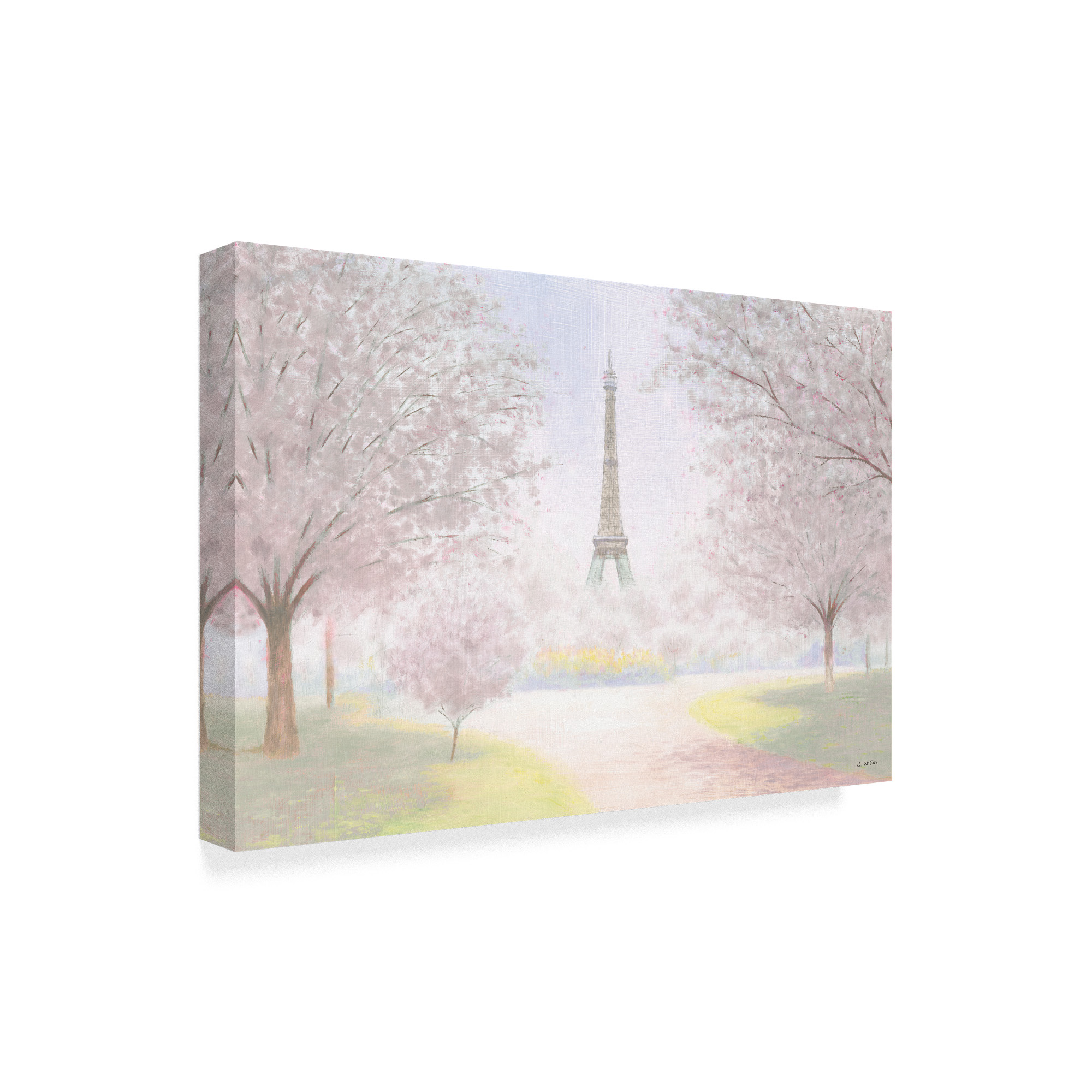 Global Gallery James Wiens Parisian Spring Giclee Stretched Canvas Artwork 24 x 16