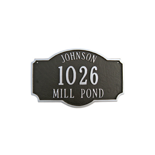 Montague Metal Products Inc. Montague Standard Address Plaque