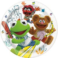 Muppet Babies Paper Dinner Plates, 9in, 24ct