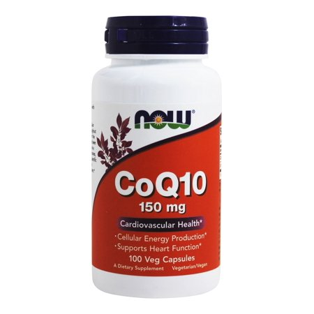 NOW Foods - CoQ10 Cardiovascular Health 150 mg. - 100 Vegetarian