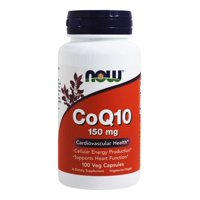 NOW Foods - CoQ10 Cardiovascular Health 150 mg. - 100 Vegetarian Capsules