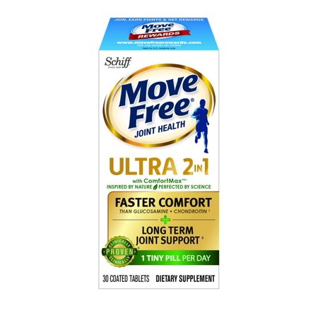 Move Free Ultra 2in1 with Comfort Max, Clinically proven joint support, 30 tablets