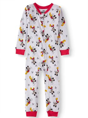 Mickey Mouse Toddler Boy Cotton Footless Sleepers Pajamas
