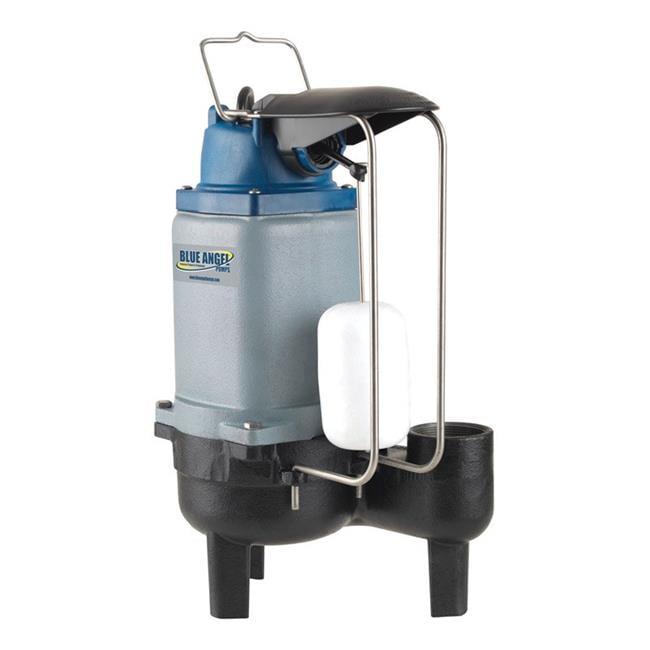 Blue Angel Pump 4926333 Blue Angel 0.5 HP 183 gpm Cast Iron Submersible Sewage Pump - image 1 of 1
