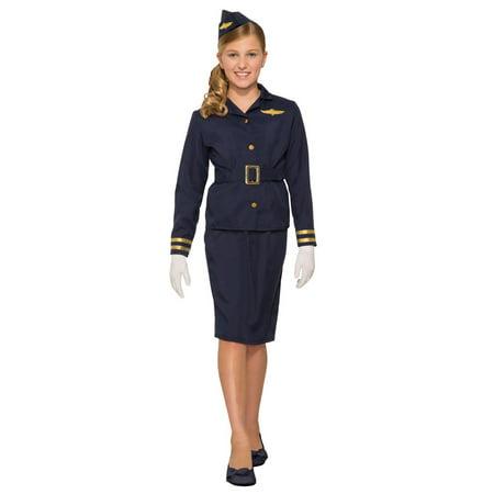 Stewardess Halloween Costume (Girls Stewardess Costume)
