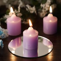 Efavormart Set of 12 Unscented Votive Candles for Wedding Party Birthday Centerpieces Home Decorations Supplies