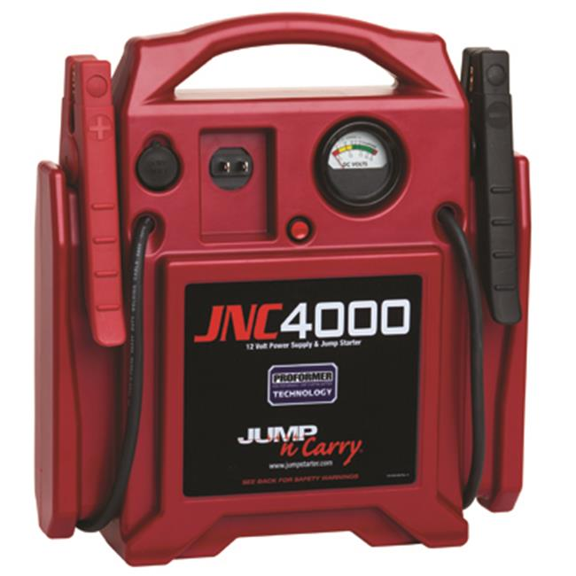 Clore Automotive JSJNC4000 Jump Starter 1100 Peak 400Amp 12V Red
