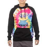 Minion Hippy Men's Raglan Hooded Pullover