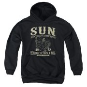 Sun Records Rockabilly Bird Big Boys Pullover Hoodie