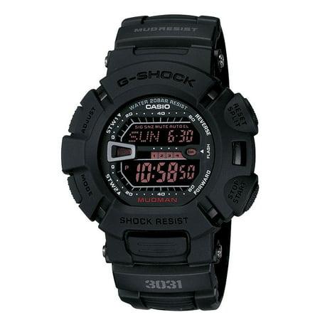 Casio G9000MS-1 Men's Mudman Military Blackout Alarm Chronograph G Shock Watch