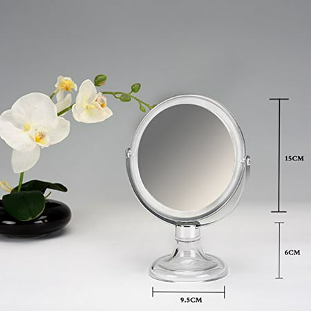 Beauty Acrylic Makeup Organizer Luxury Cosmetics Acrylic Clear Frame Stand Mirror (Cosmetic Mirror)