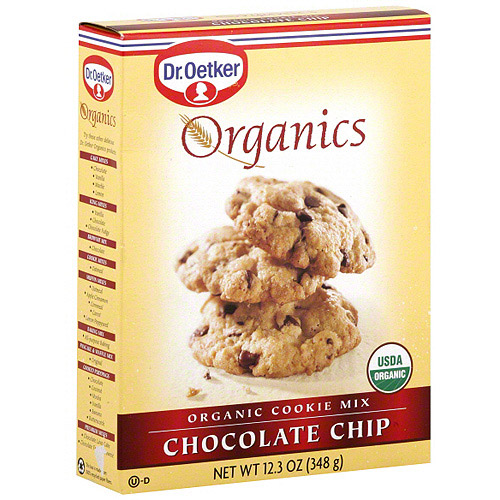 Dr. Oetker Organic Chocolate Chip Cookie Mix, 12.3 oz (Pack of 12)