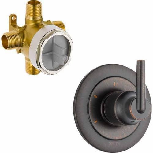 Delta shower diverter valve replacement Plumbing Fixtures