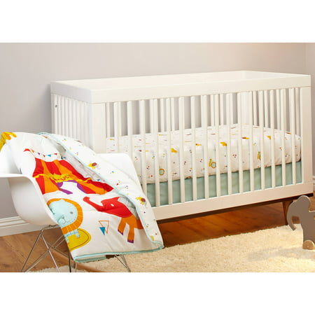 Cute 3-Piece Circus Crib Bedding Set Only $10 at Walmart