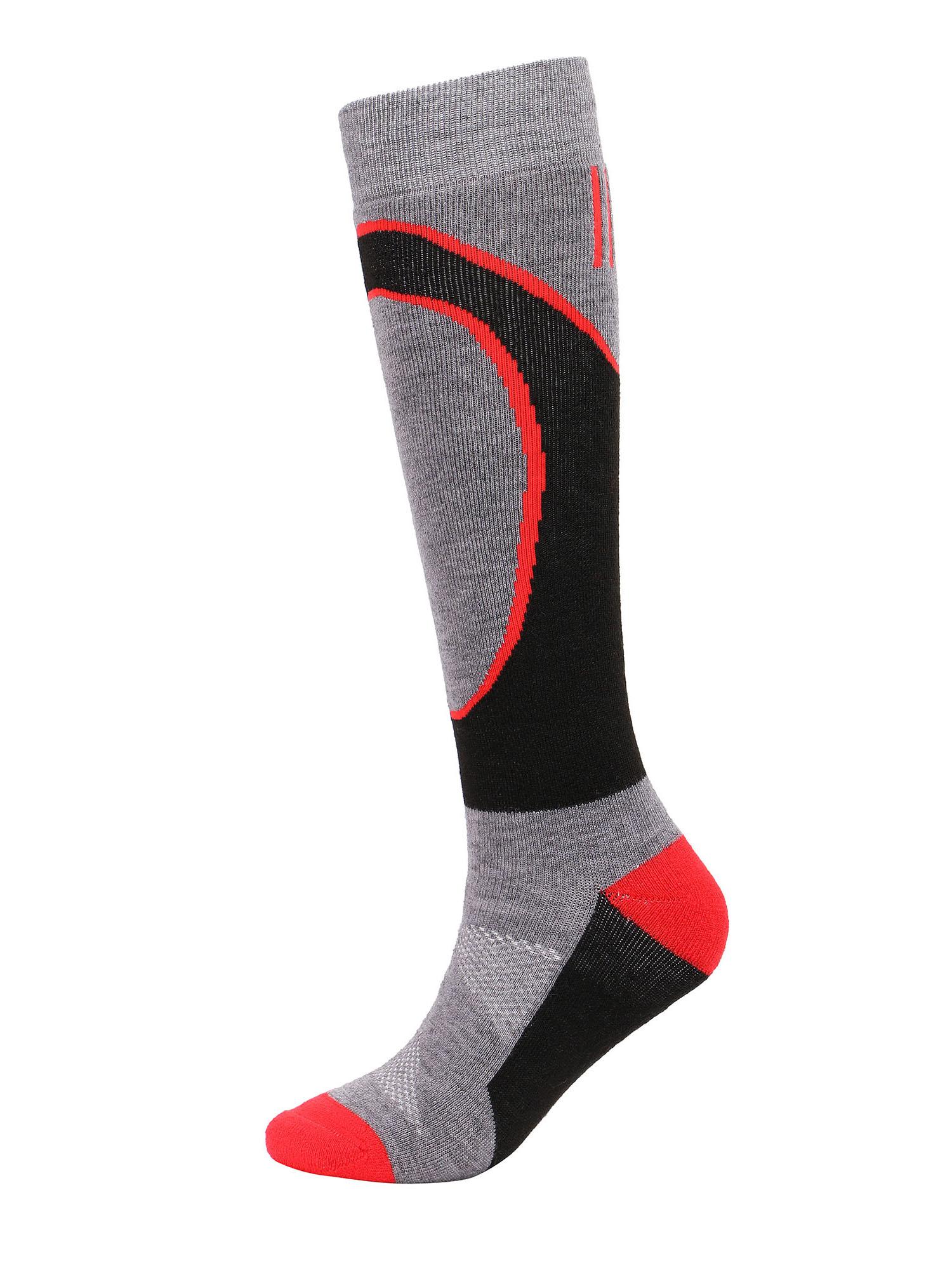 Kids'Merino Wool Ski Socks w/ Moisture-Wicking Full Terry Interior