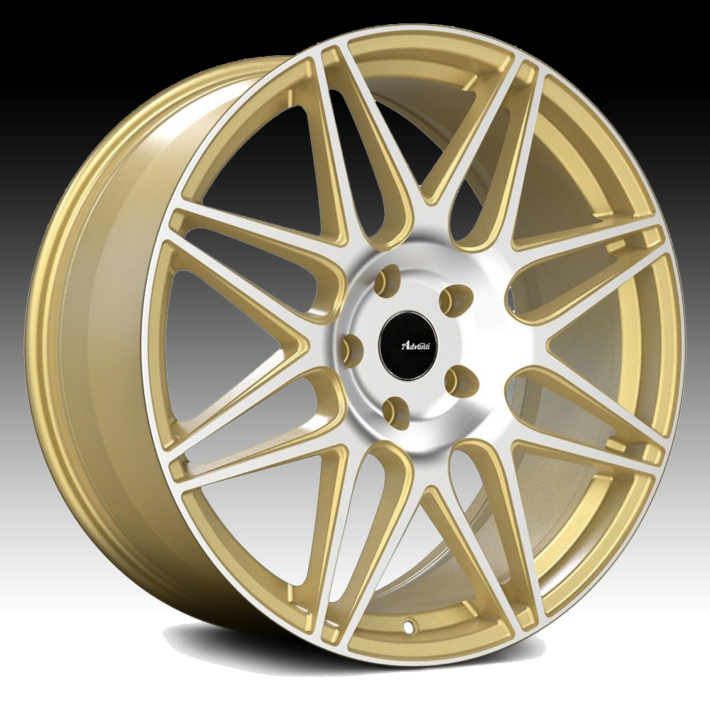 Advanti Racing CL Classe Machined Gold 18x8 5x100 45mm (CL88510457)
