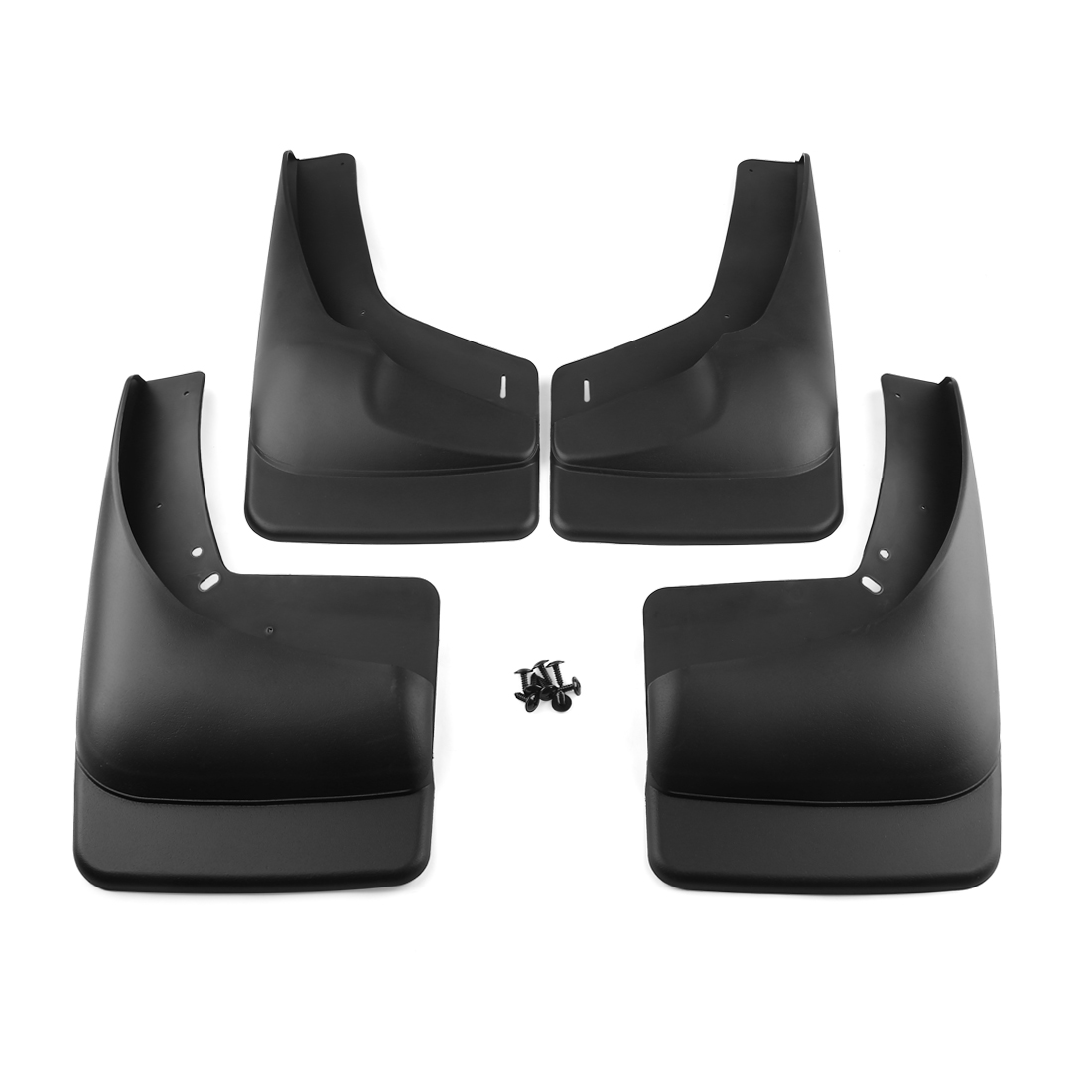 4pcs Mud Flaps Splash Guards w/ Fender for 1999-2007 Chevy Silverado