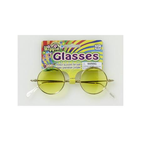 Are Halloween Lenses Safe (Round Glasses - Yellow Lenses Halloween Costume)
