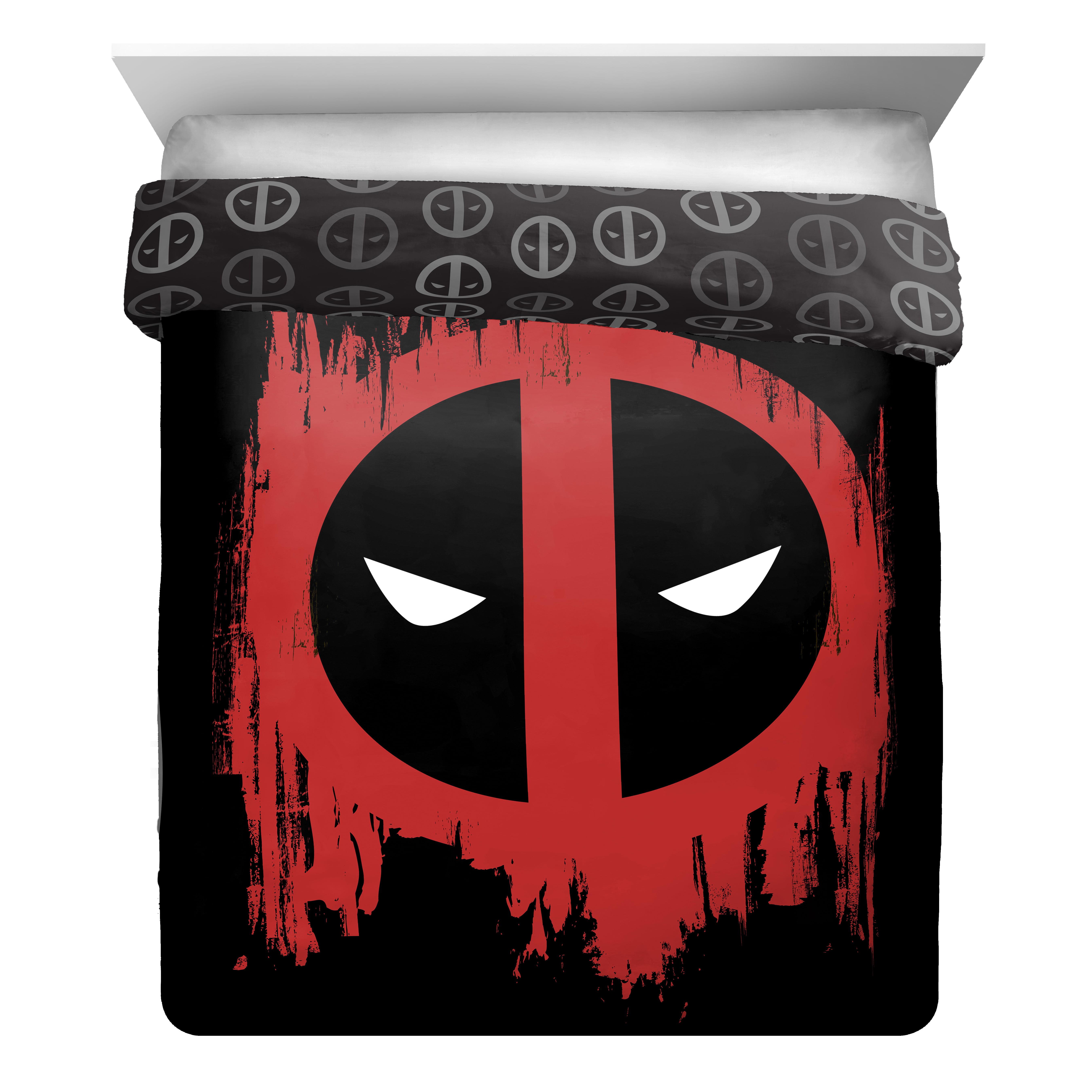 Marvel Deadpool Invasion Full Queen Reversible Comforter by Jay Franco