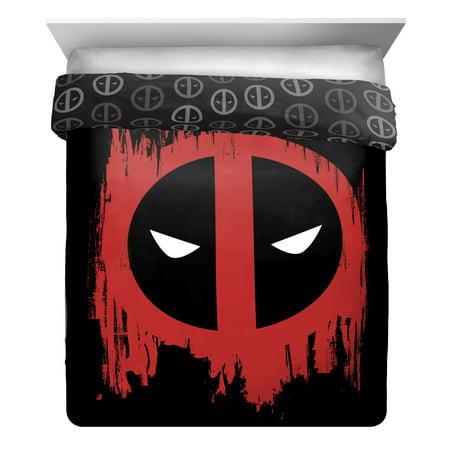 Marvel Deadpool Invasion Full Queen Reversible Comforter