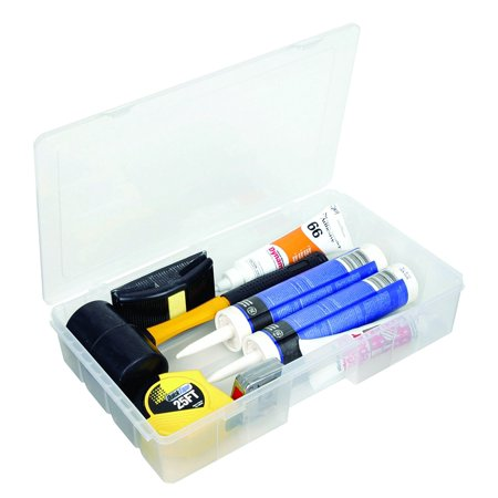 7000R Tuff Tainer Double Deep Storage Box, Open Core with Rails, Waterproof Tuff Compartment Dividers 3000 Satchel1 4X4 PS3 1612 Utility Container.., By Flambeau Ship from US (Plain Box Rail)