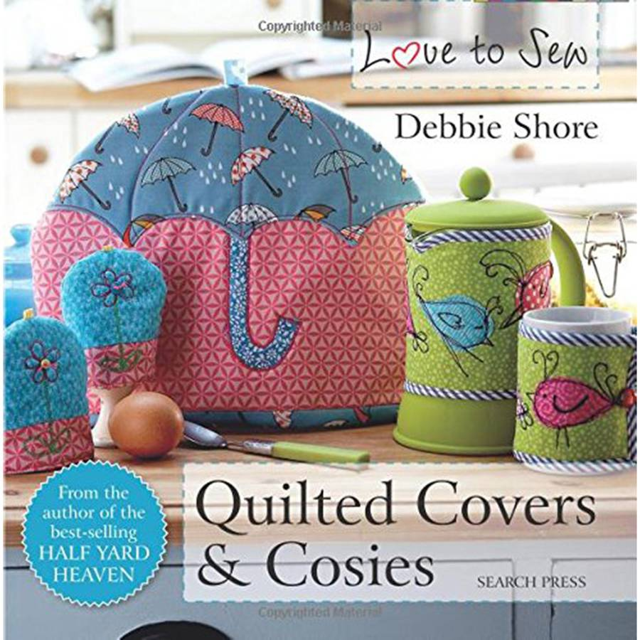 Search Press Books Quilted Covers and Cosies