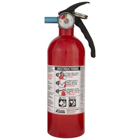 Multi Purpose Fire Extinguisher - Kidde Fire Auto Fire Extinguisher, Model FX5 II, 5 B:C Rated