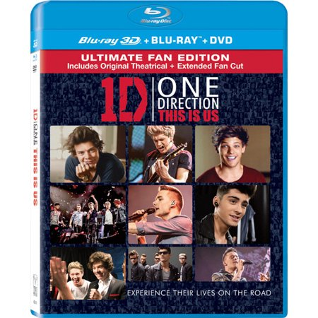 One Direction  This Is Us  Blu Ray   Dvd