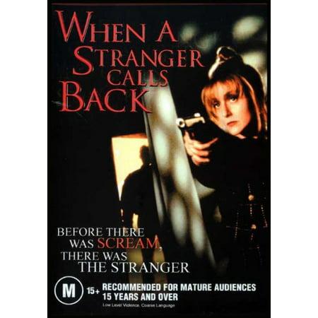 When a Stranger Calls Back [ NON-USA FORMAT, PAL, Reg.0 Import - Australia (Cheap International Calls From Usa To Europe)