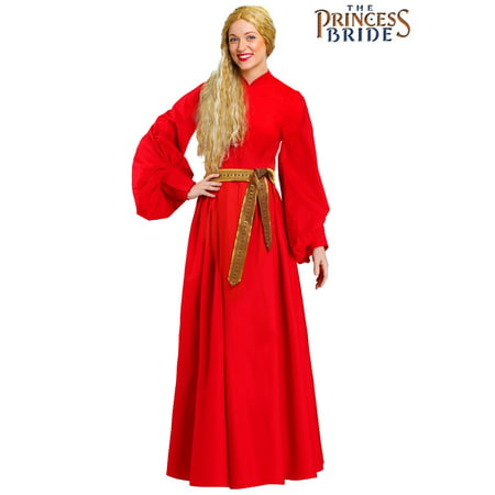 Bride Costume For Women (Princess Bride Costume for Women Red Buttercup)