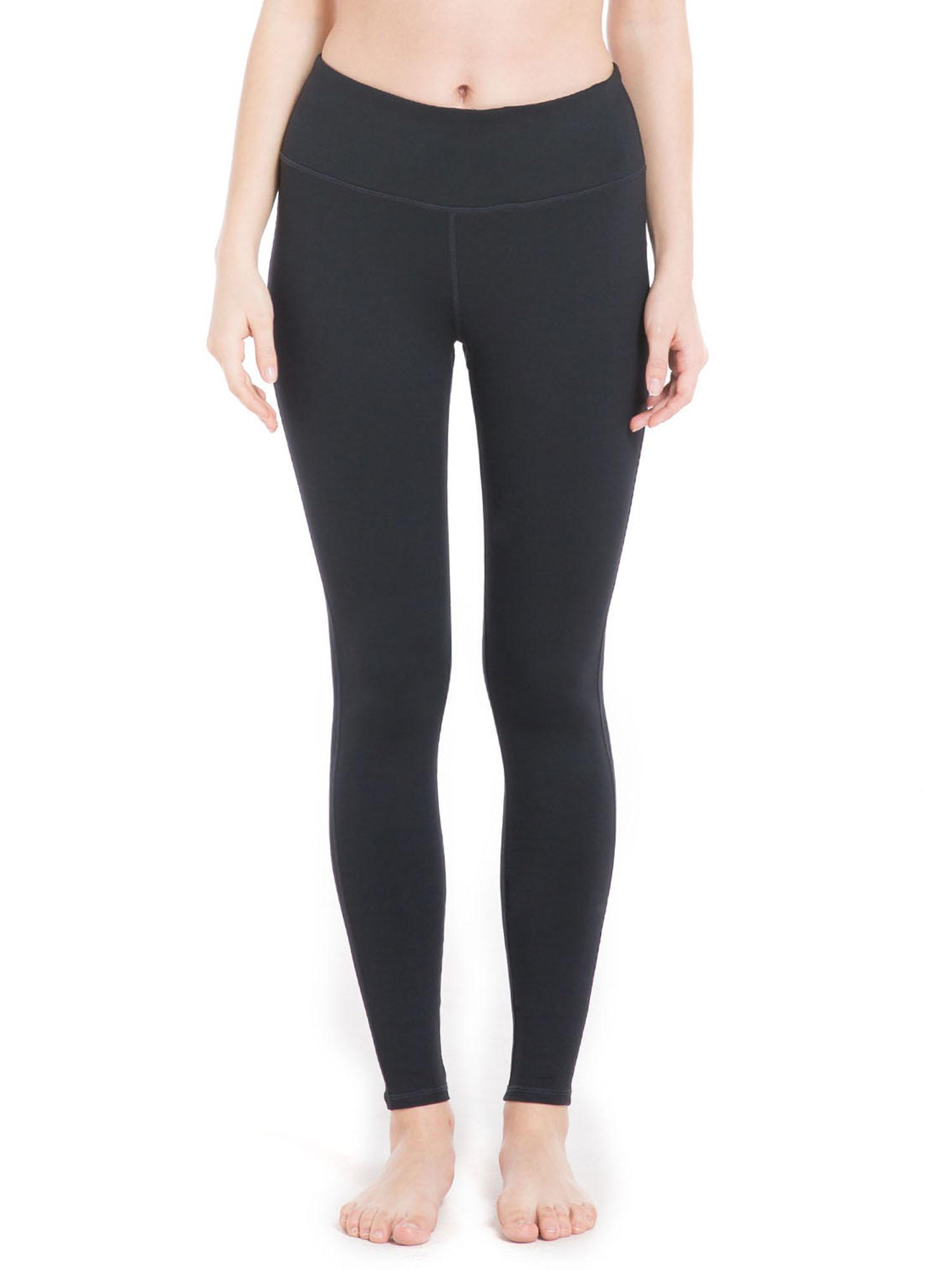 OwnShoe Women Yoga Pants High Waist Out Pockets Elasticity Tummy Control Running Tights Nine Pants