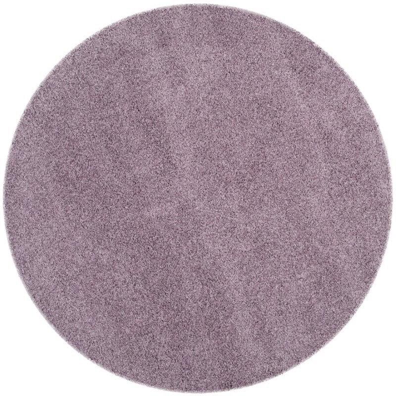 "Safavieh Laguna Shag 5'3"" X 7'6"" Power Loomed Rug in Purple - image 8 de 10"