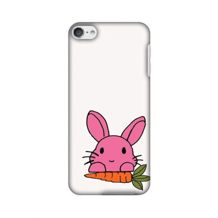 iPod Touch 6th Gen Case - Carrot my favourite- White, Hard Plastic Back Cover, Slim Profile Cute Printed Designer Snap on Case with Screen Cleaning (My Ipod Touch Wont Turn On At All)